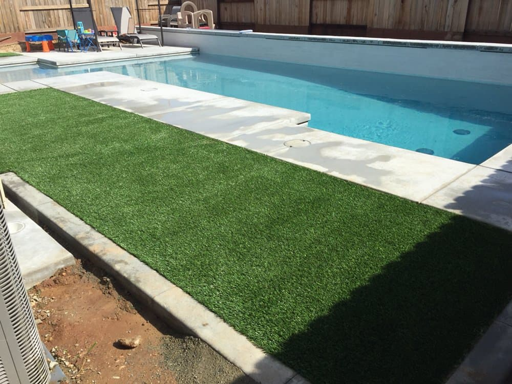Artificial Turf by Pool